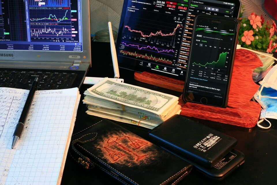 cash and trading